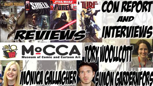 Episode 254 - MoCCA Recap with Monica Gallagher, Simon Gardenfors & Tory Woollcott