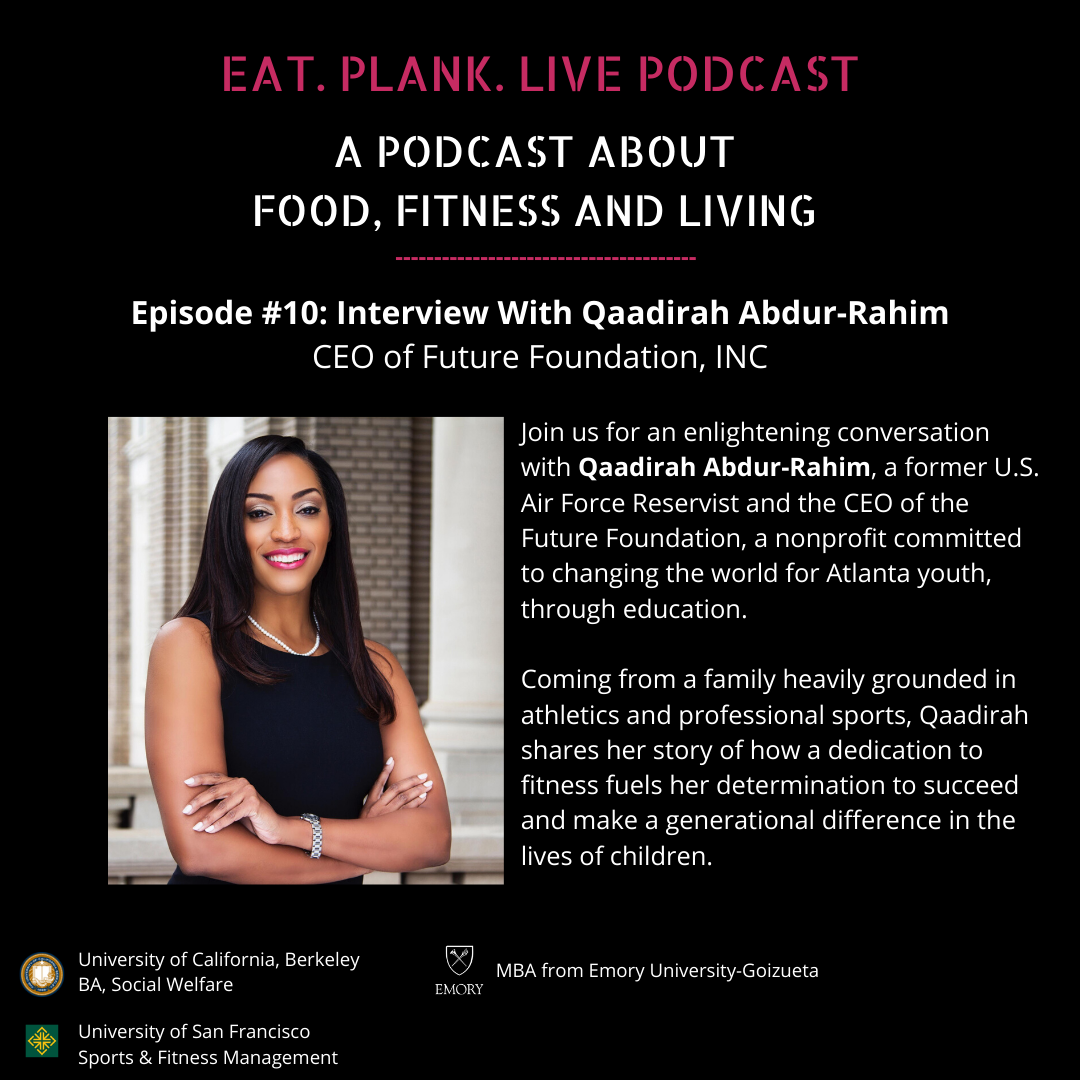 Episode 10: Interview With Qaadirah Abdur-Rahim, CEO of Future Foundation  show art