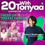 Artwork for Faces of Breast Cancer w/Kathy Cowan| 20 With TONYAA | KUDZUKIAN