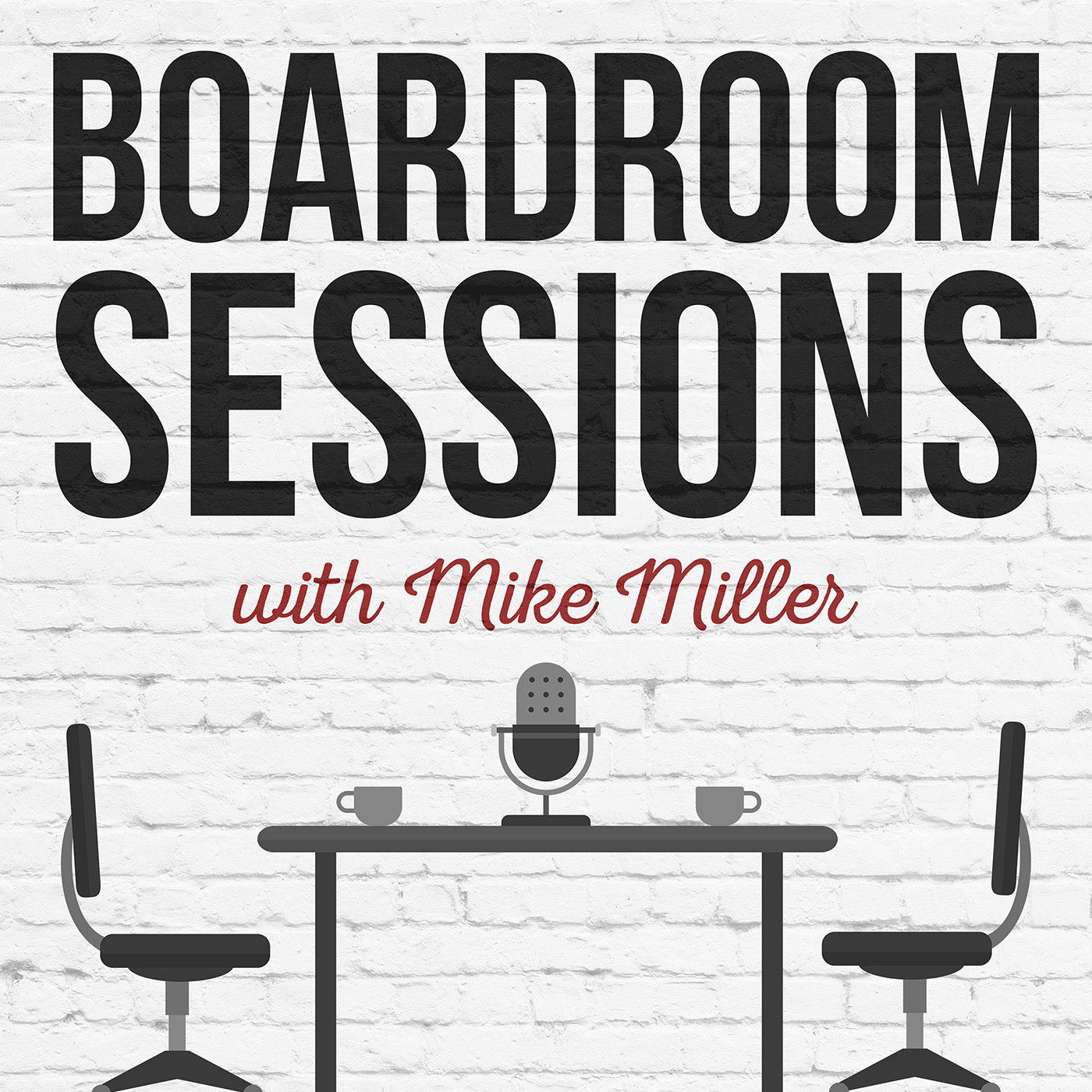 Boardroom Sessions Podcast show art