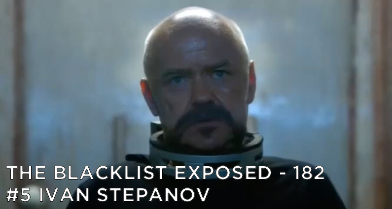 Ivan Stepanov sits in a chair with an electric shock collar around his neck.