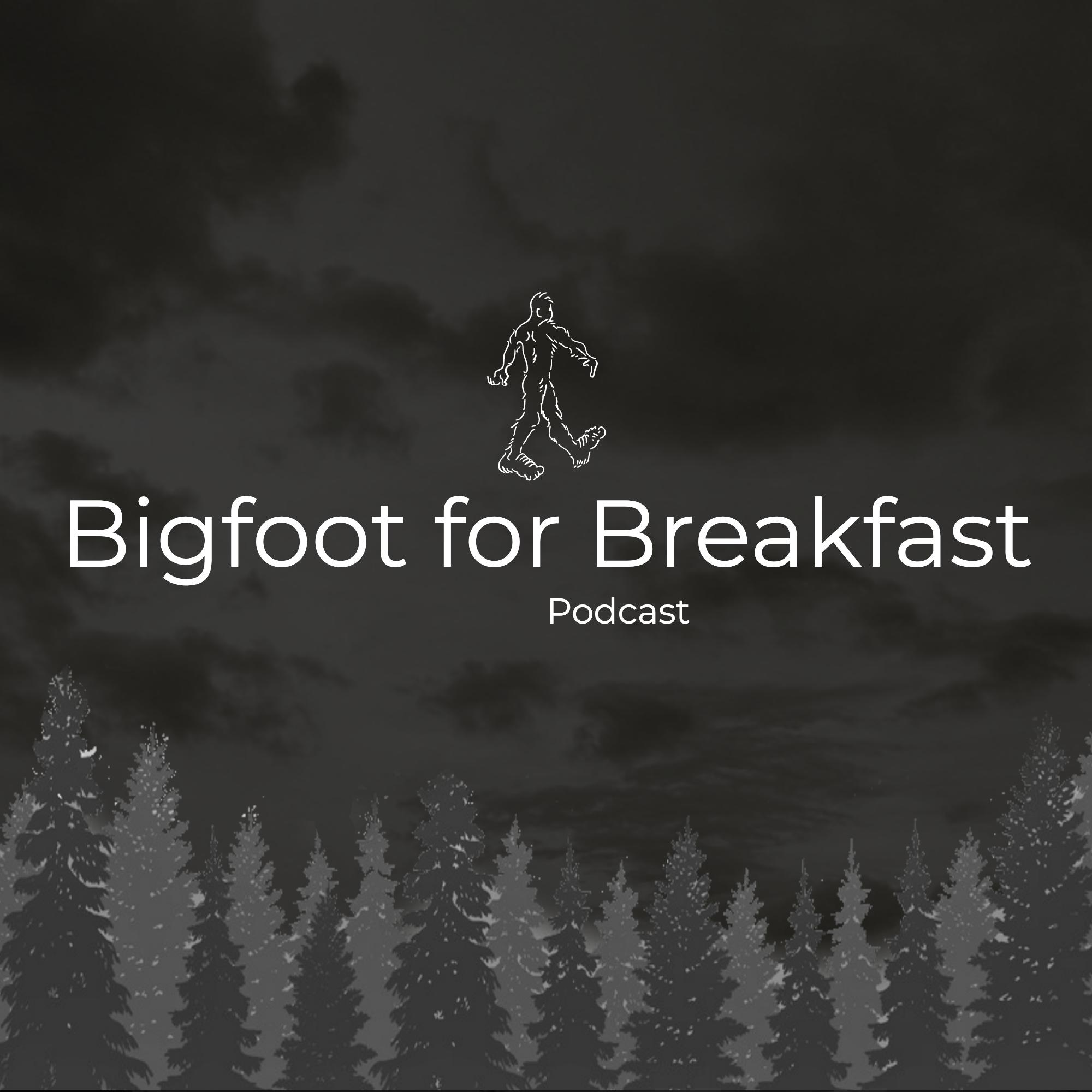 Bigfoot for Breakfast show art