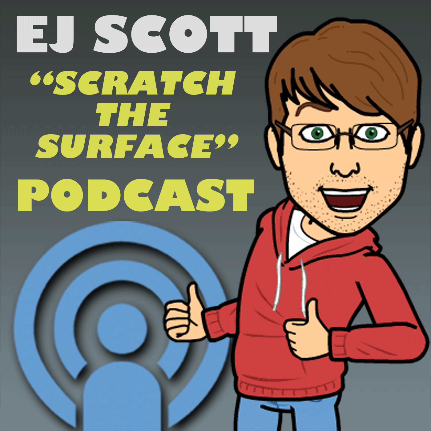 SCRATCH the SURFACE with EJ Scott show art