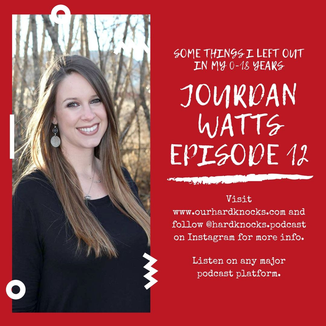 Episode 12: Jourdan Watts - Some Things I Left Out in My 0-18 Years