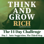 Artwork for Day 5 The Auto-Suggestion Challenge - Think and Grow Rich 14 day challenge