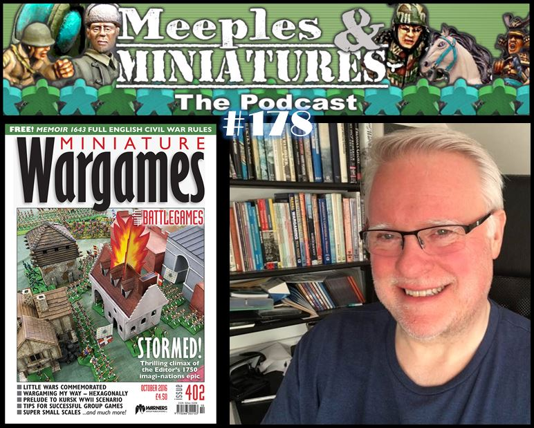 Meeples & Miniatures - Episode 178 - Hobby News Special