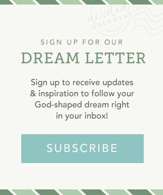 dream letter subscription form