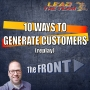 Artwork for 10 Ways To Generate Customers As A Car Salesperson (replay)   The FRONT