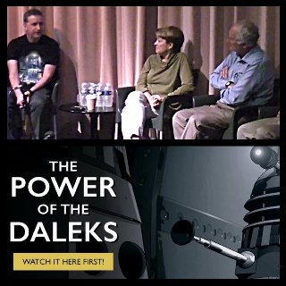 Tim's Take On: Episode 348(Janet Fielding, Micheal Keating and Mike Tucker at Whooverville 8/Power of The Daleks animated)