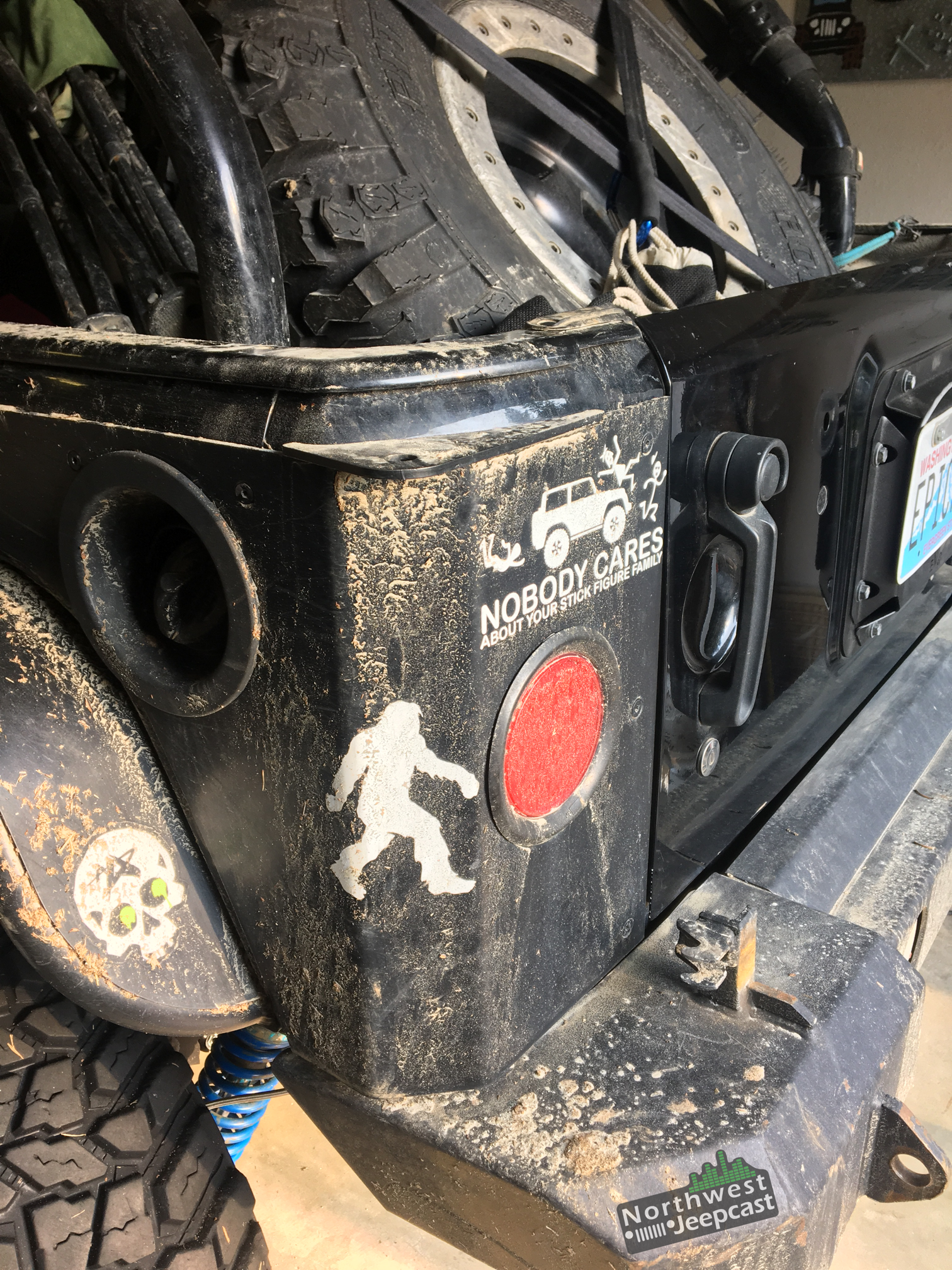 Northwest Jeepcast - Jeep Podcast - EVO HnT rear bumper project