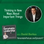 Artwork for Thinking in New Ways About Important Things with David Burkus
