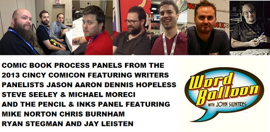 Word Balloon Podcast Comic Book Process With Jason Aaron Dennis Hopeless Ryan Stegman Chris Burnham Mike Norton Jay Leisten Michael Moreci Steve Seeley