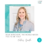 Artwork for Dear Introvert, The World Needs You to Be You! — with Holley Gerth
