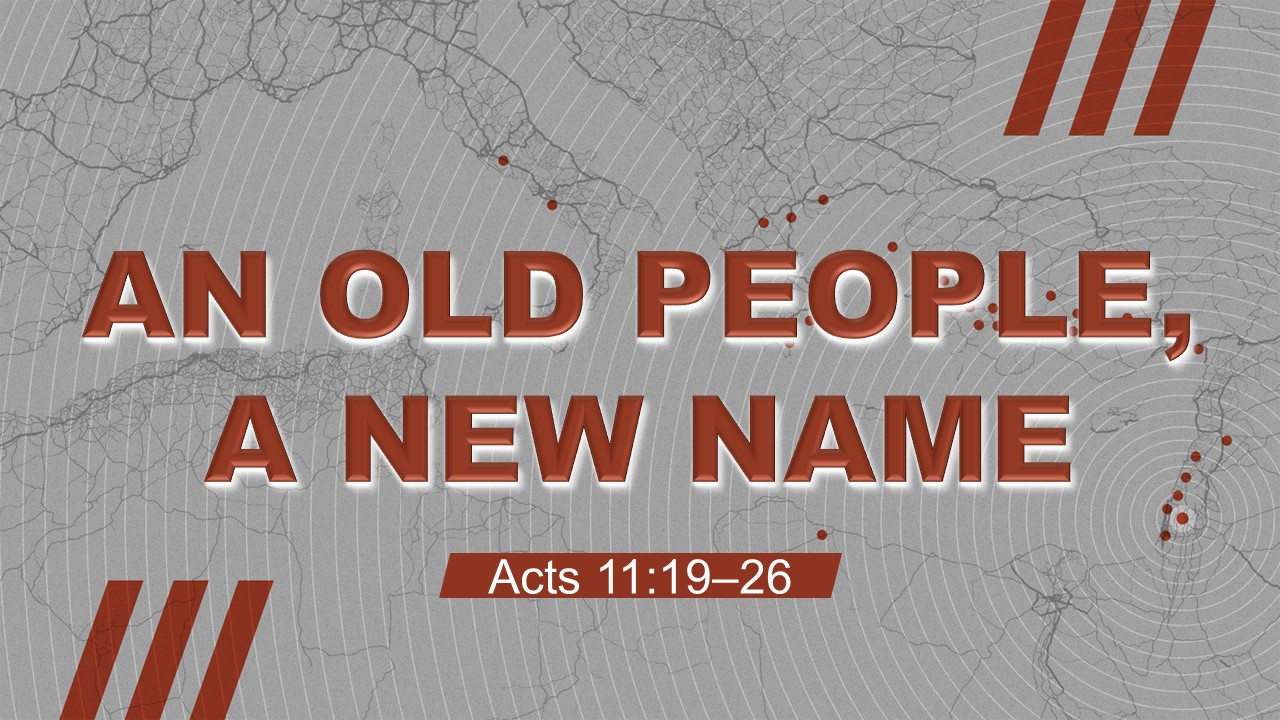 Artwork for An Old People, A New Name  (Pastor Patrick Martin)