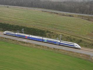 Un tren francés bate el récord de velocidad