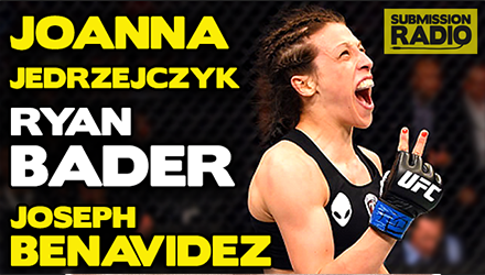 Submission Radio 31/5/15 Ryan Bader, Joanna Jedrzejczyk, Joseph Benavidez + UFC Brazil