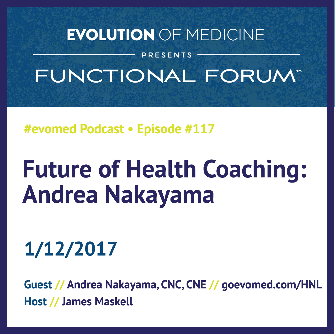 Future of Health Coaching: Andrea Nakayama