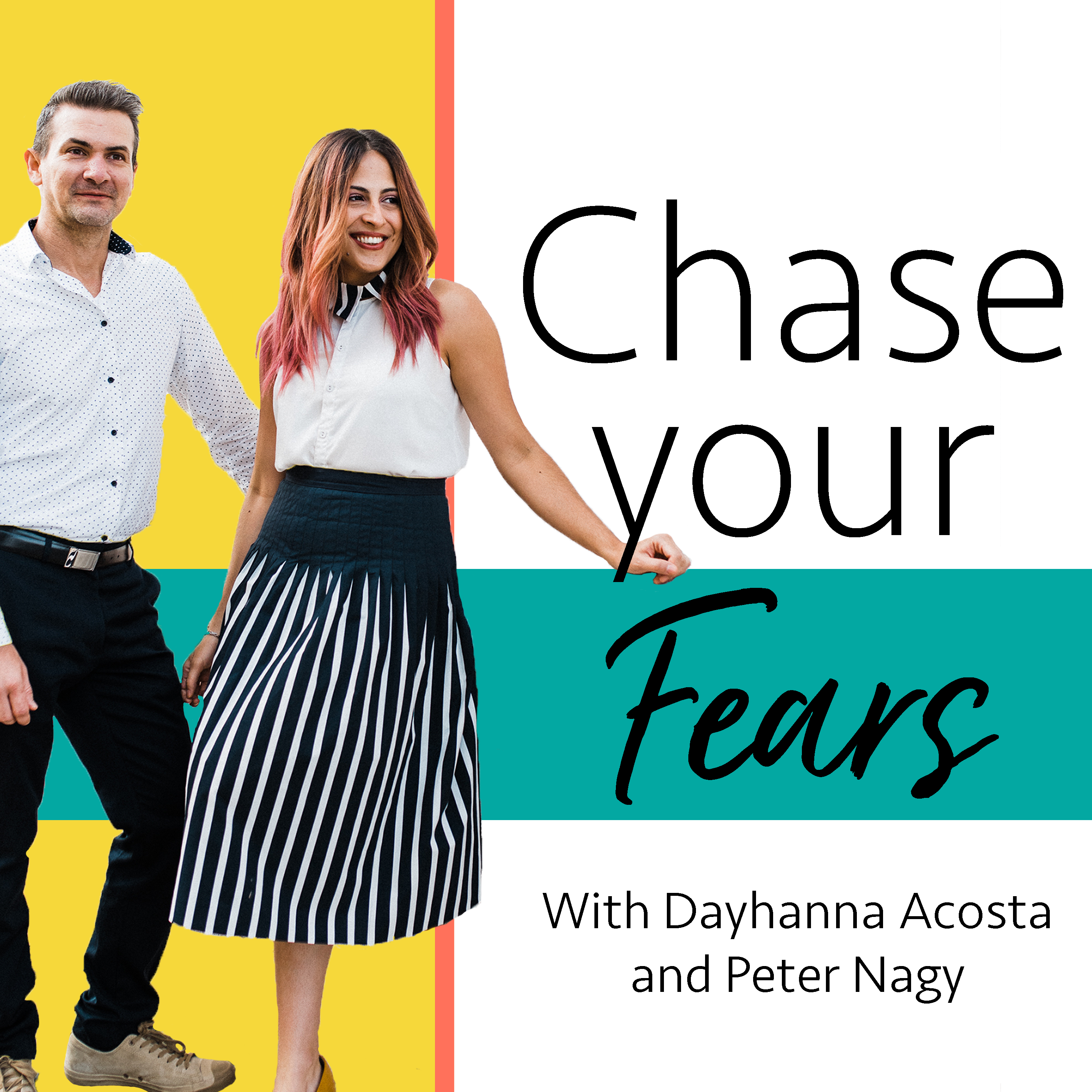 Chase Your Fears Podcast: Personal Development | Creative Entrepreneurship | Motivation | Self-Help | Marketing and Business Strategy show art