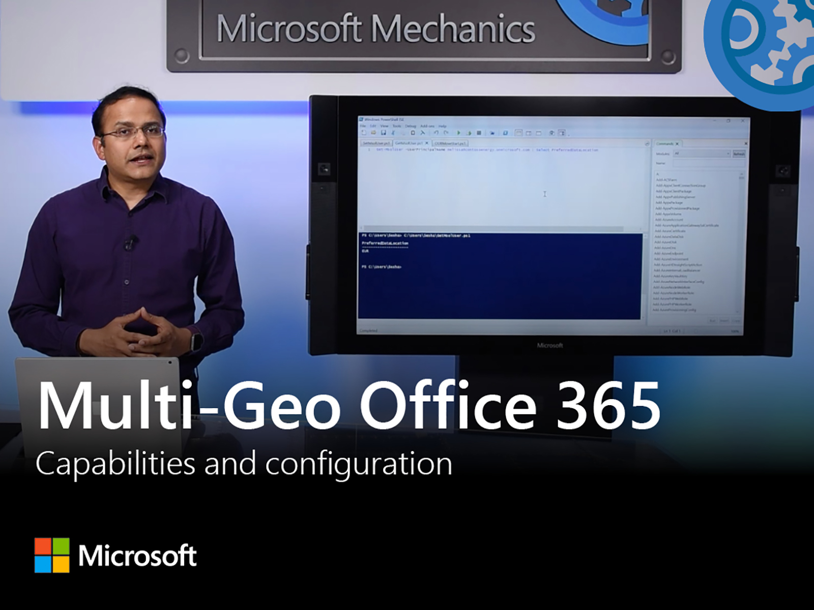 Artwork for Multi-Geo capabilities in Office 365