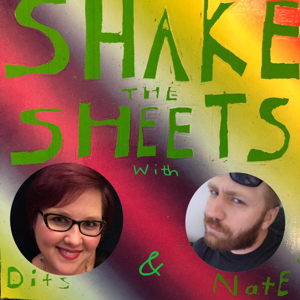 Shake the Sheets: Pop Culture Talk show art