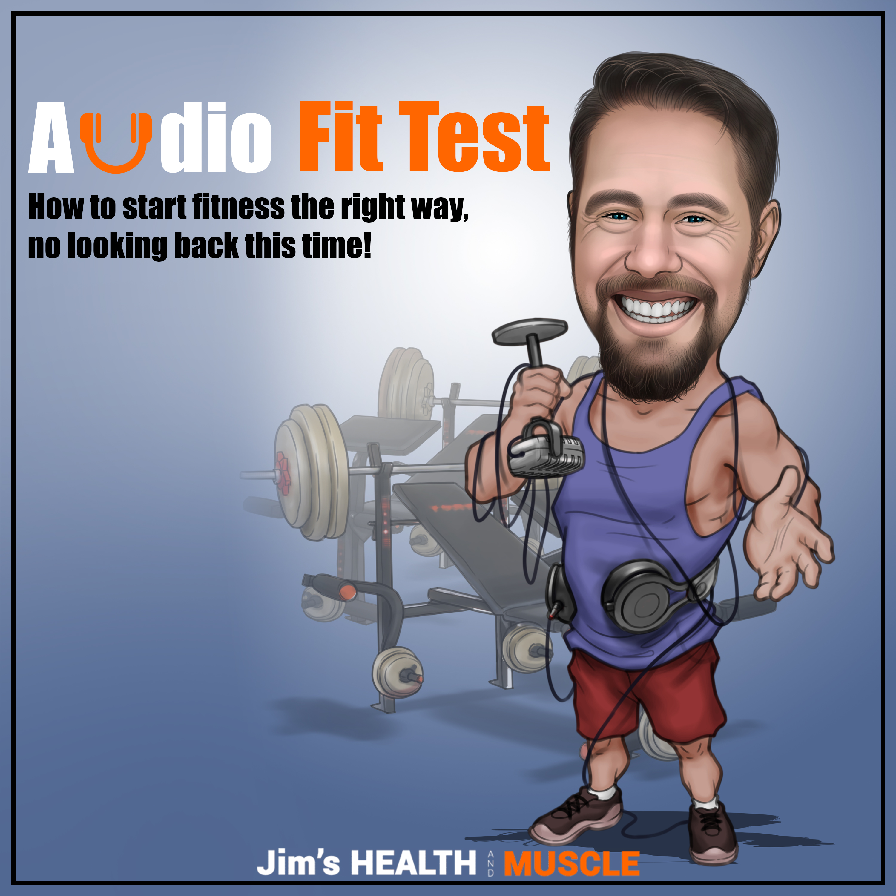 Audio FitTest: Changing the game for beginners to fitness show art