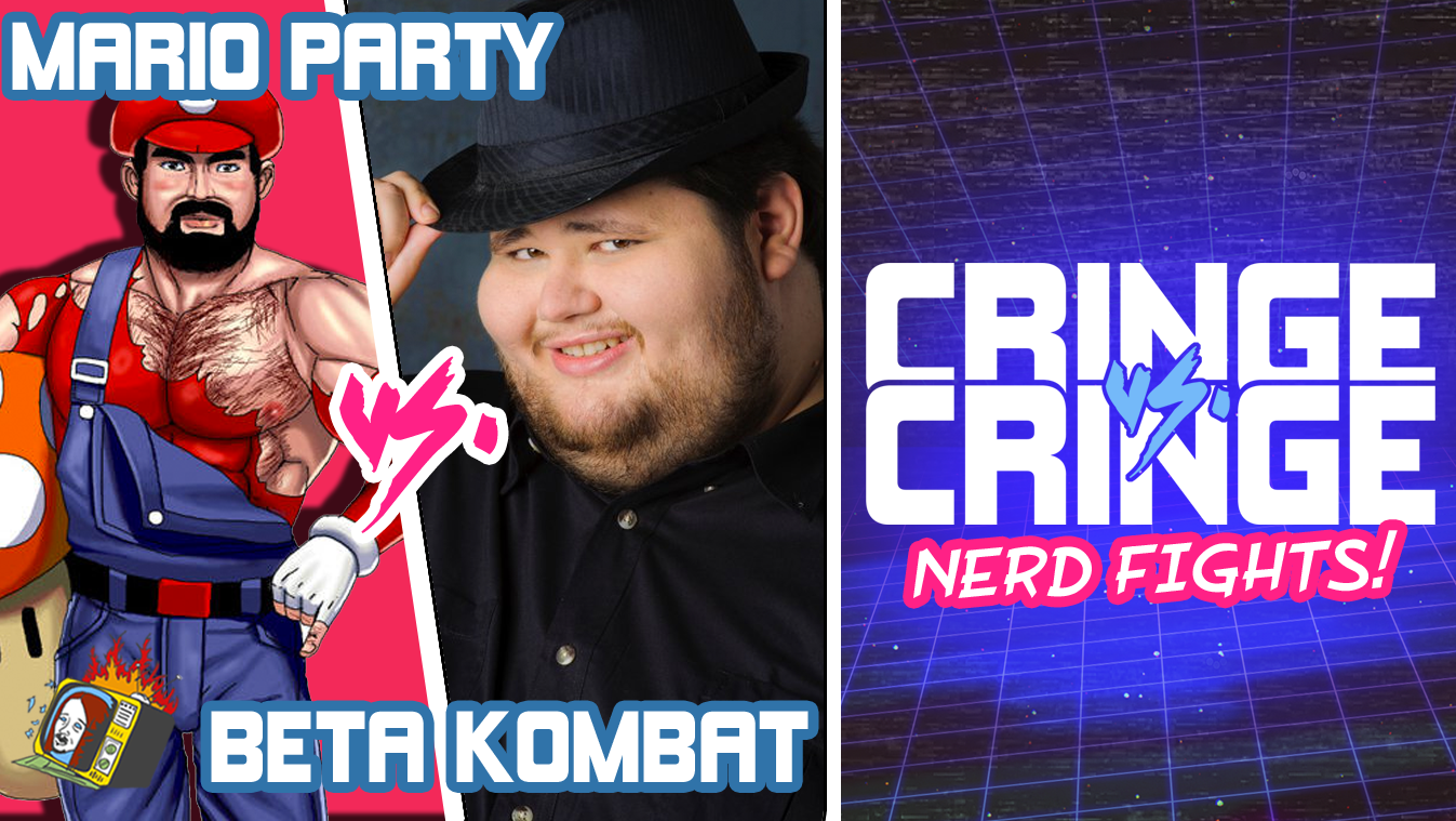 "NERD FIGHTS: ""Mario Party"" VS. ""Beta Kombat"" - CRINGE VS. CRINGE"