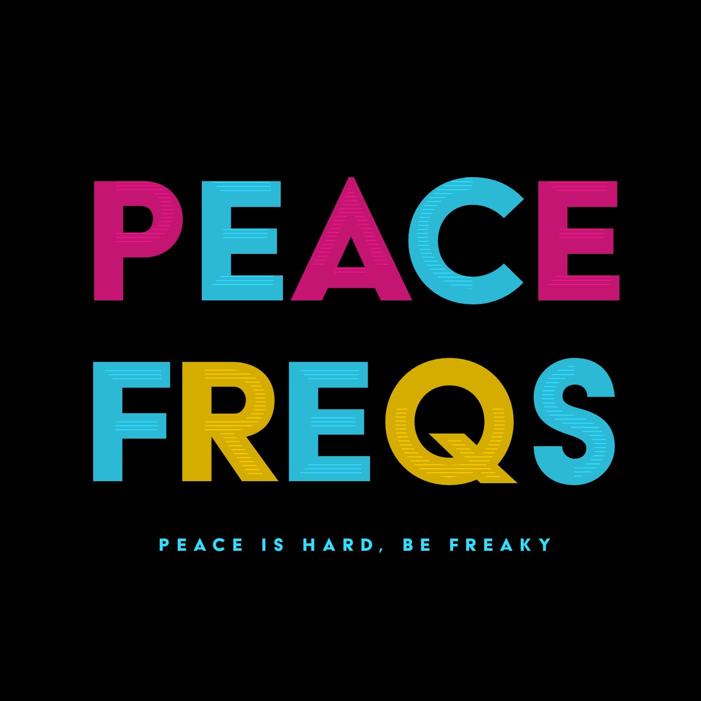 Peace Freqs show art