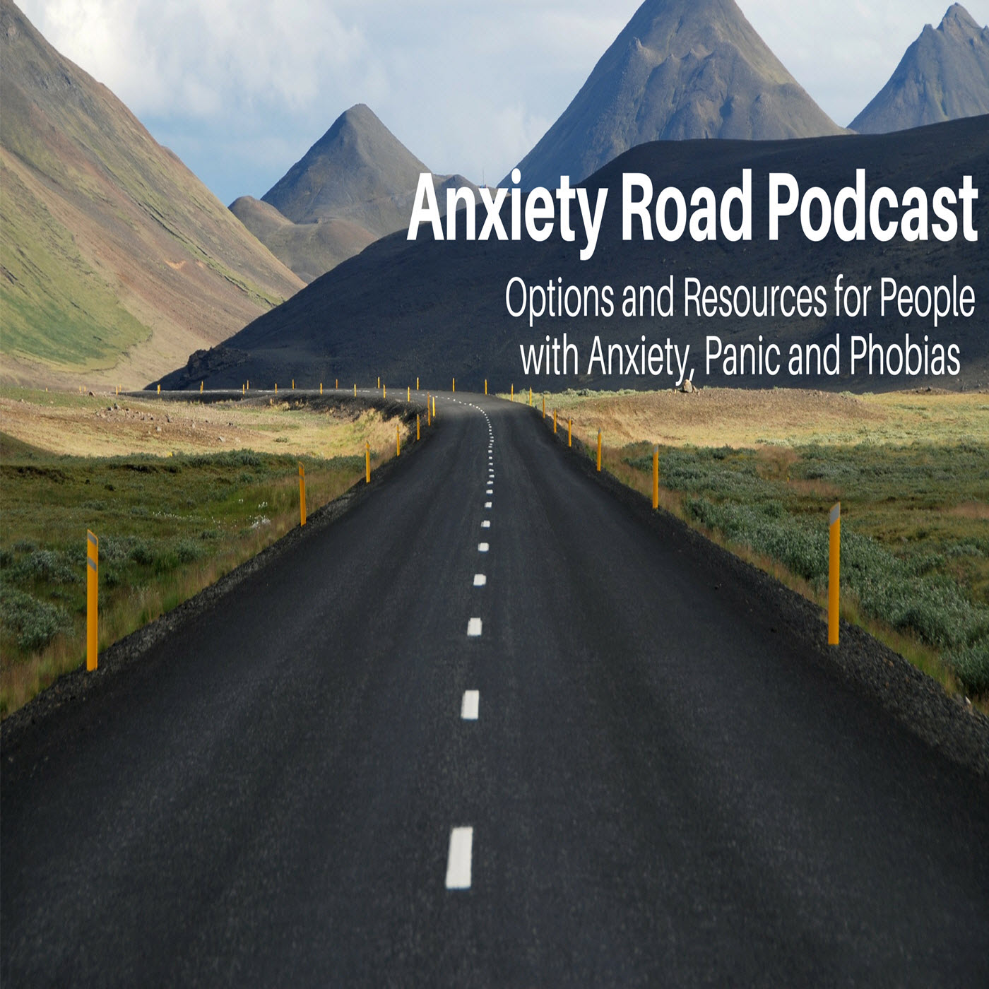 Anxiety Road Podcast show art
