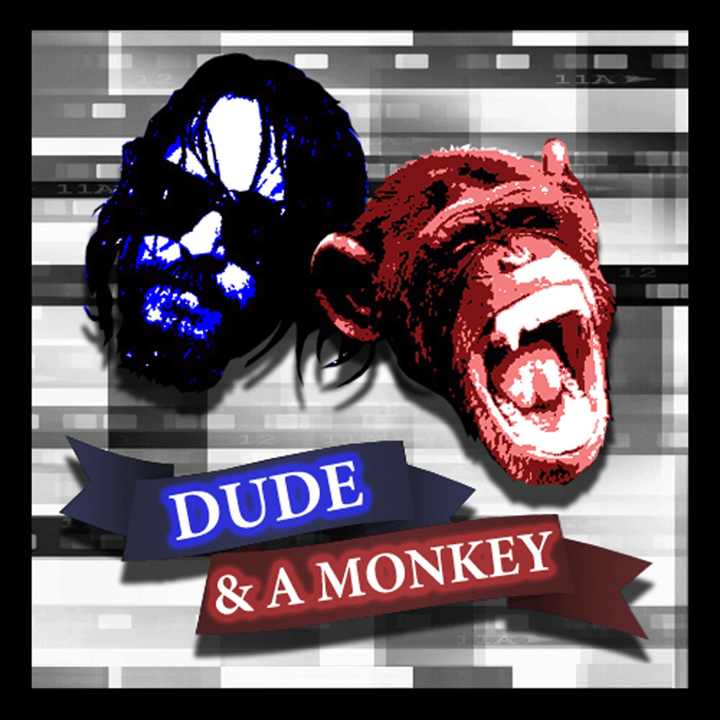 Dude & A Monkey logo