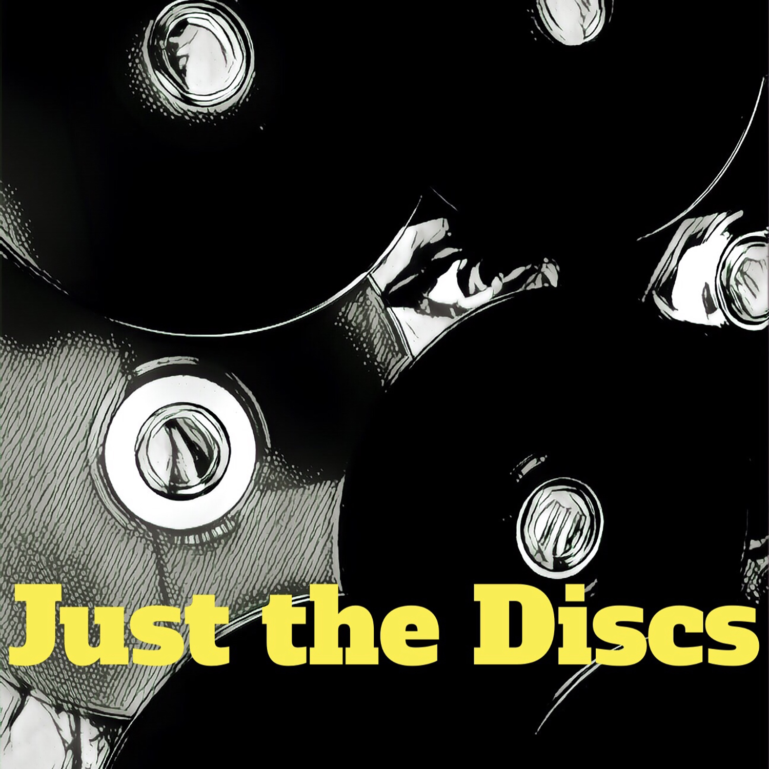 Just The Discs Podcast show art