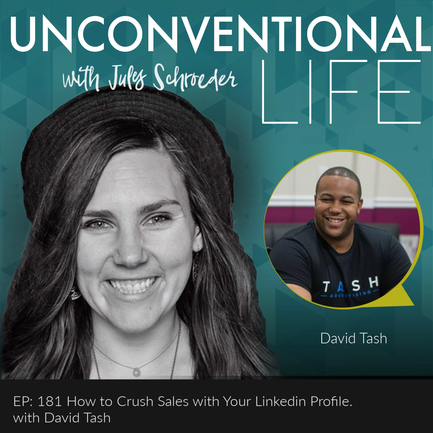 Ep: 181 How to Crush Sales with Linkedin  show art