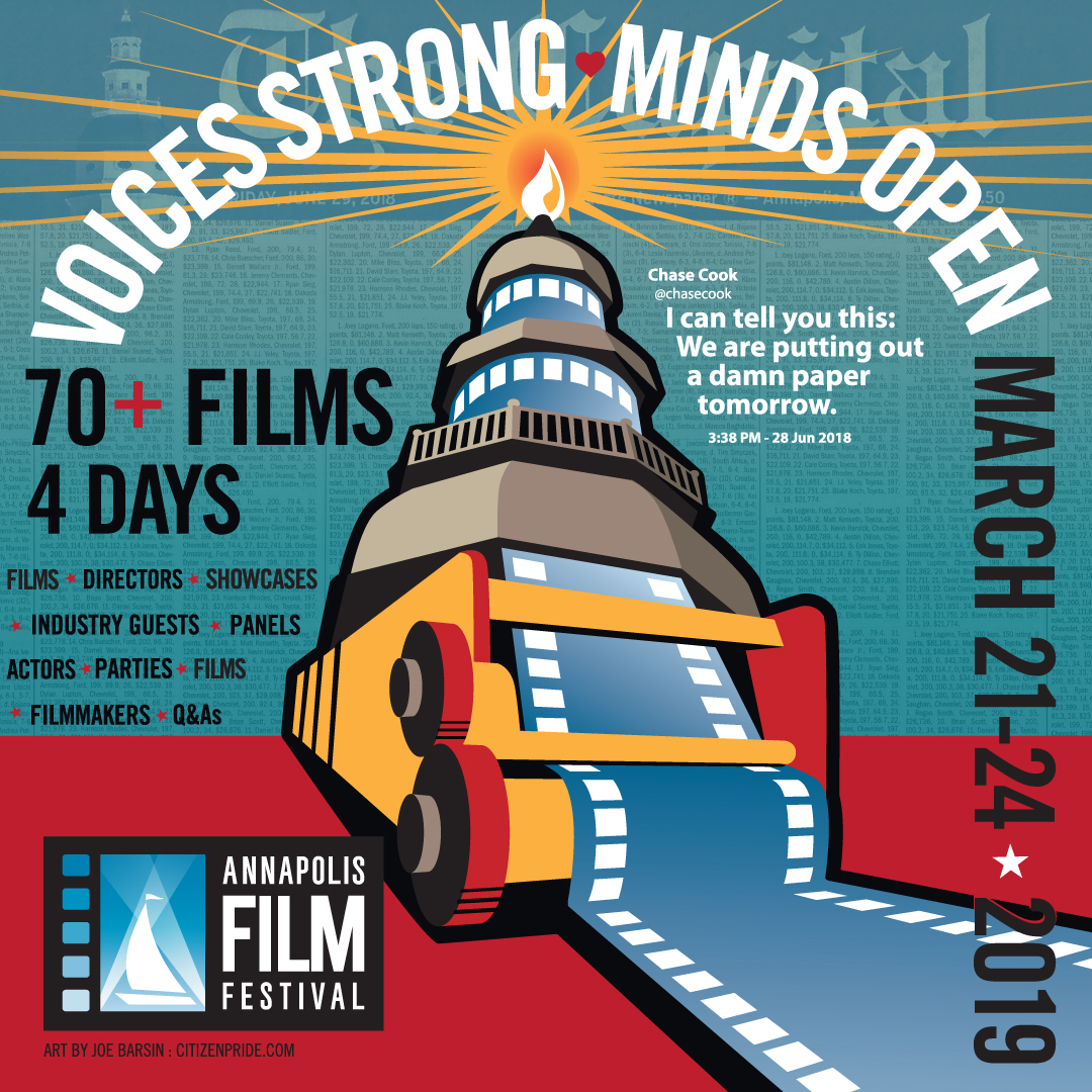 Artwork for CRABCAKE: 7th Annual Annapolis Film Festival 2019