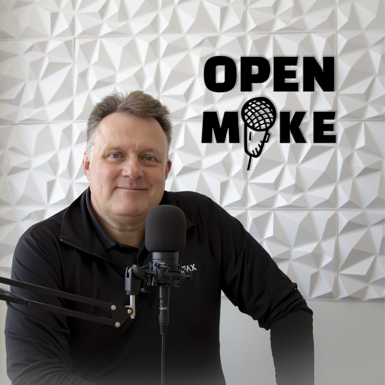 Open Mike show art