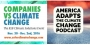 Artwork for Companies vs Climate Change Conference:  America Adapts on location in Fort Lauderdale talking mitigation, adaptation and sustainability!