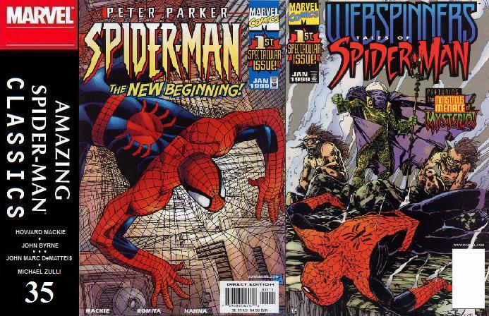 035 ASM Classics - Peter Parker: Spider-Man v2 1 and Webspinners: Tales of Spider-Man 1