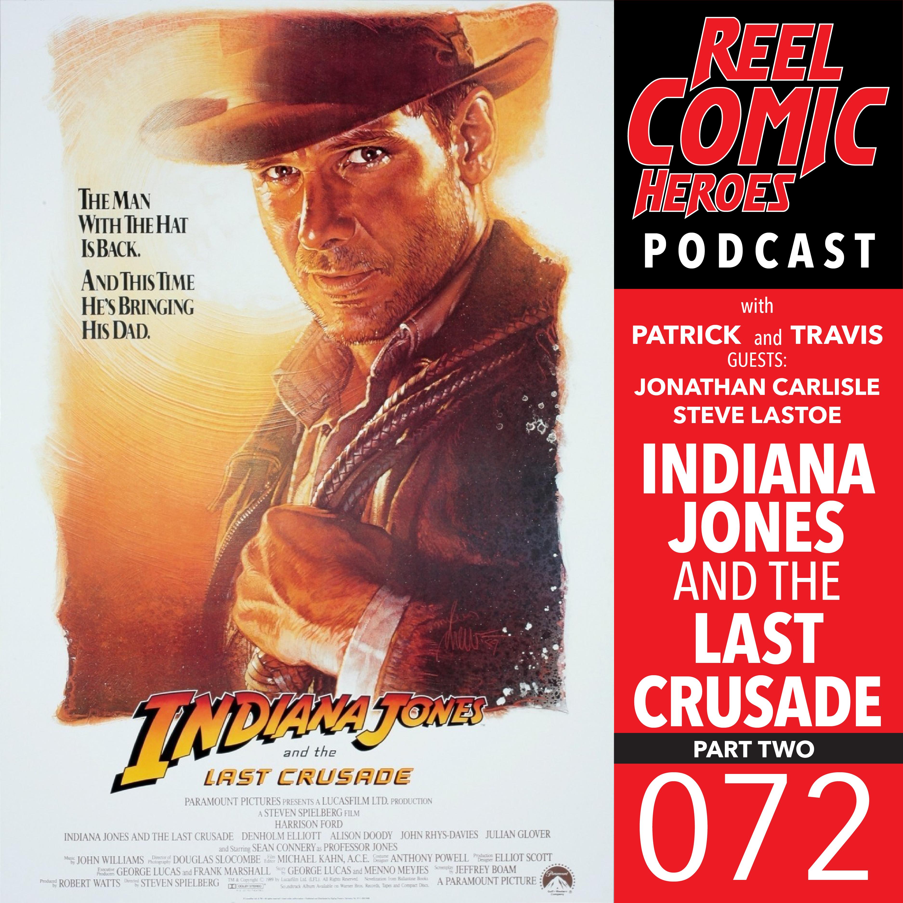 Artwork for Reel Comic Heroes 072 - Indiana Jones and the Last Crusade Pt. 2