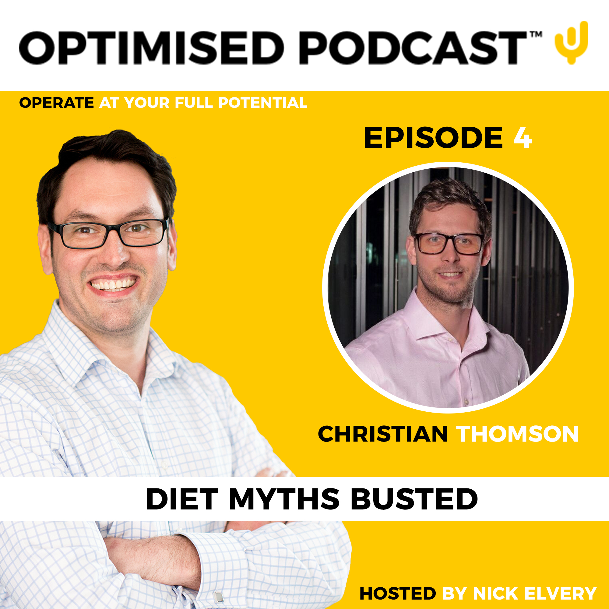 #4 - Diet myths busted with Nick and Christian