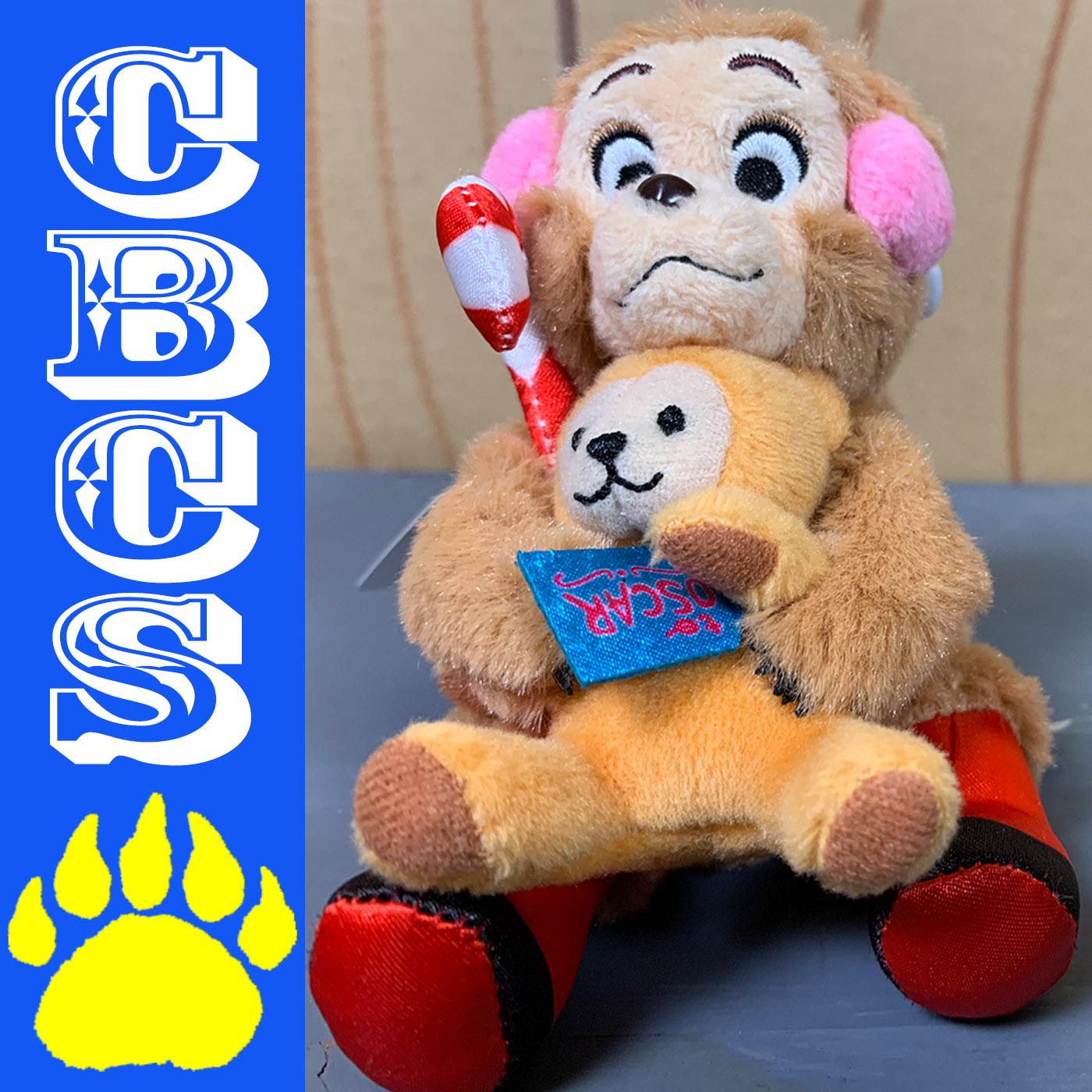Artwork for 2018 Tokyo Disneyland Jingle Bell Jamboree Oscar Keychain Plush - Country Bear Collector Show #183
