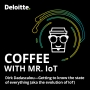 Artwork for Coffee with Mr. IoT: Dirk Dadascalou – Getting to know the state of everything (aka the evolution of IoT)
