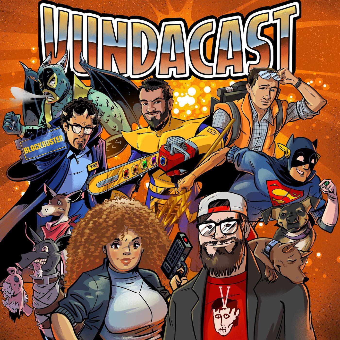 Vundacast show art