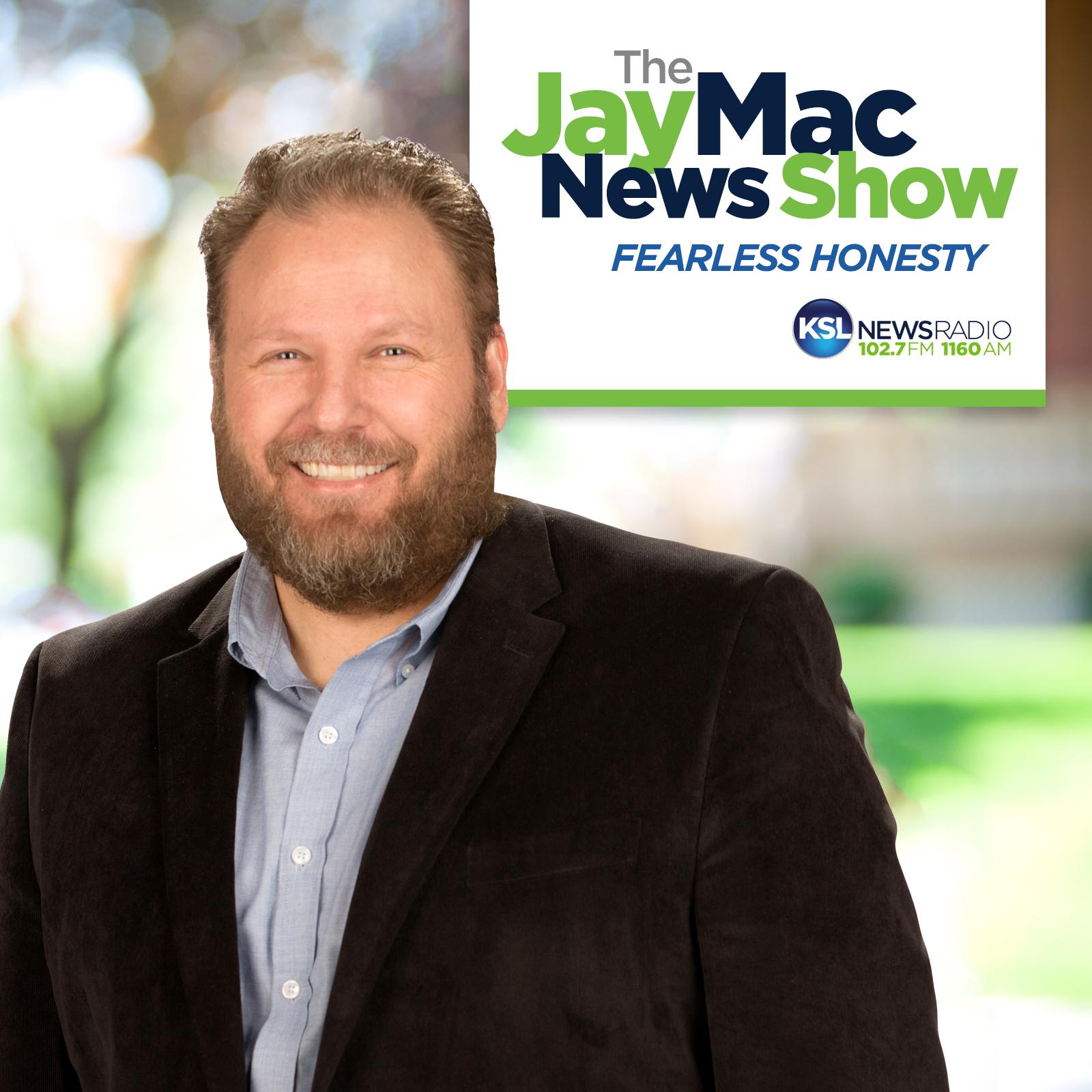 The JayMac News Show show art