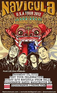 12-25-12 Punk Life Zine presents: Navicula from Bali, Indonesia