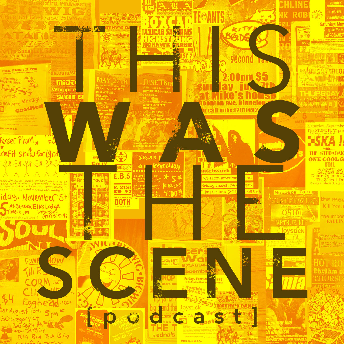This Was The Scene Podcast show art