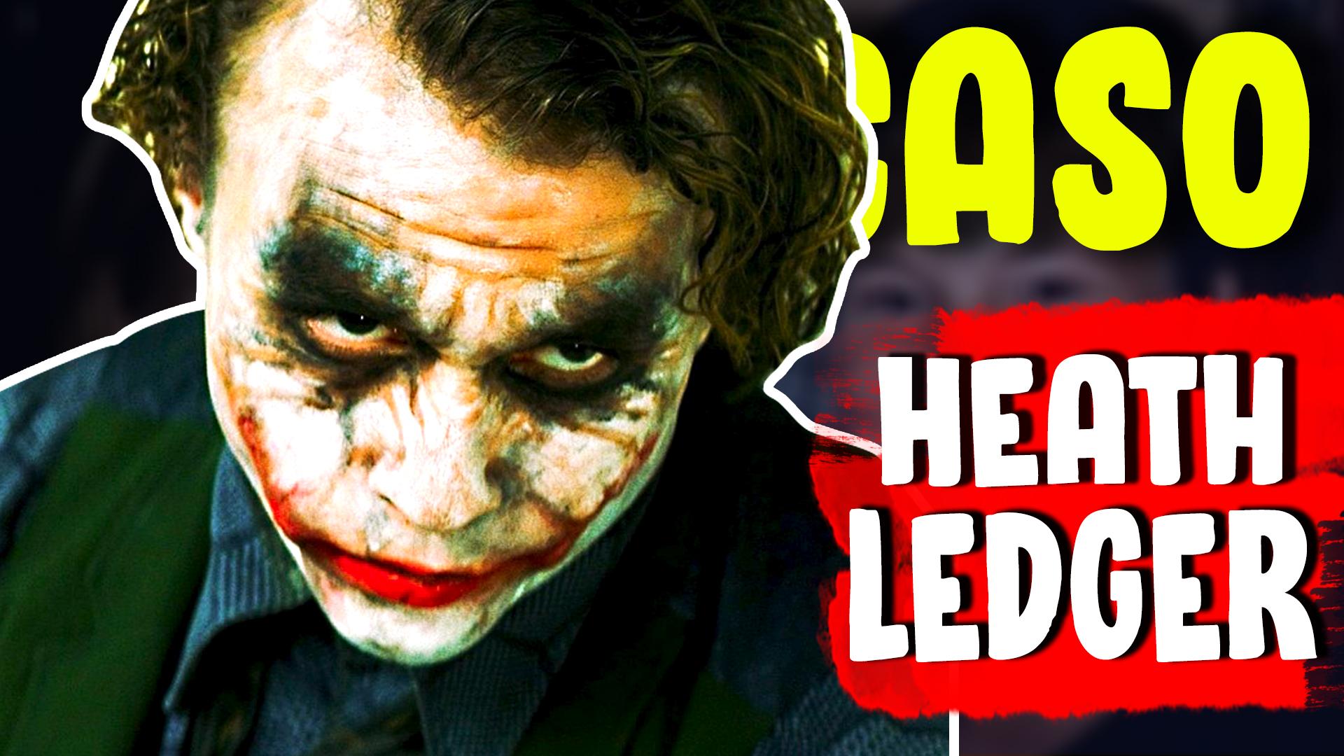 TODO sobre el CASO de Heath Ledger show art