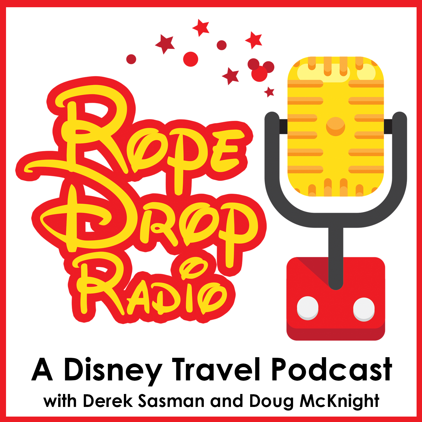 Rope Drop Radio: A Disney Travel Planning Podcast show art