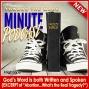 Artwork for TTM095-MINUTE--GODs WORD is Both Written AND Spoken