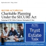 Artwork for Charitable Planning and the SECURE Act - SECURE Act Special