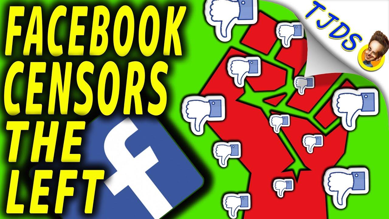 Facebook Censors The Left!