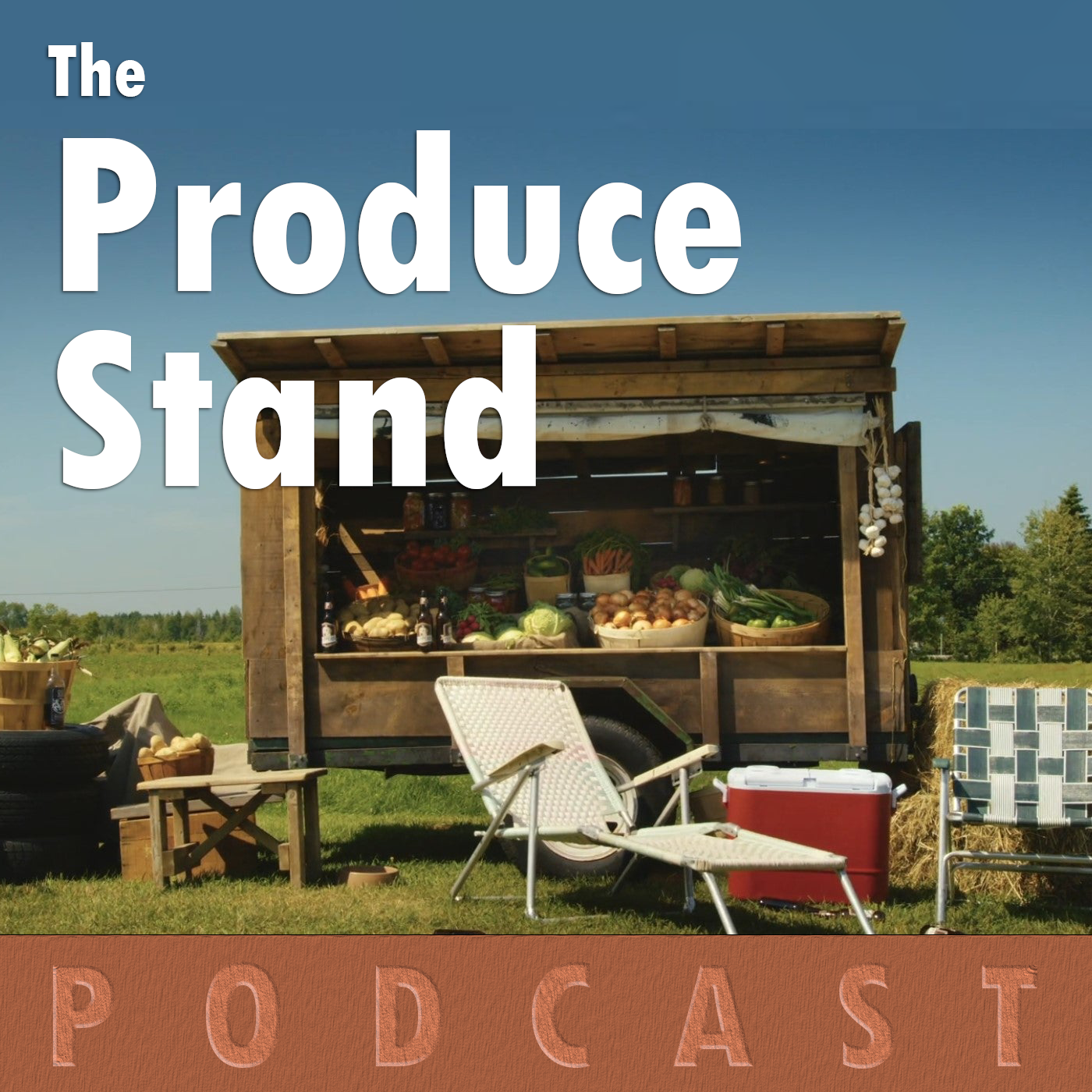 The Produce Stand Podcast show art