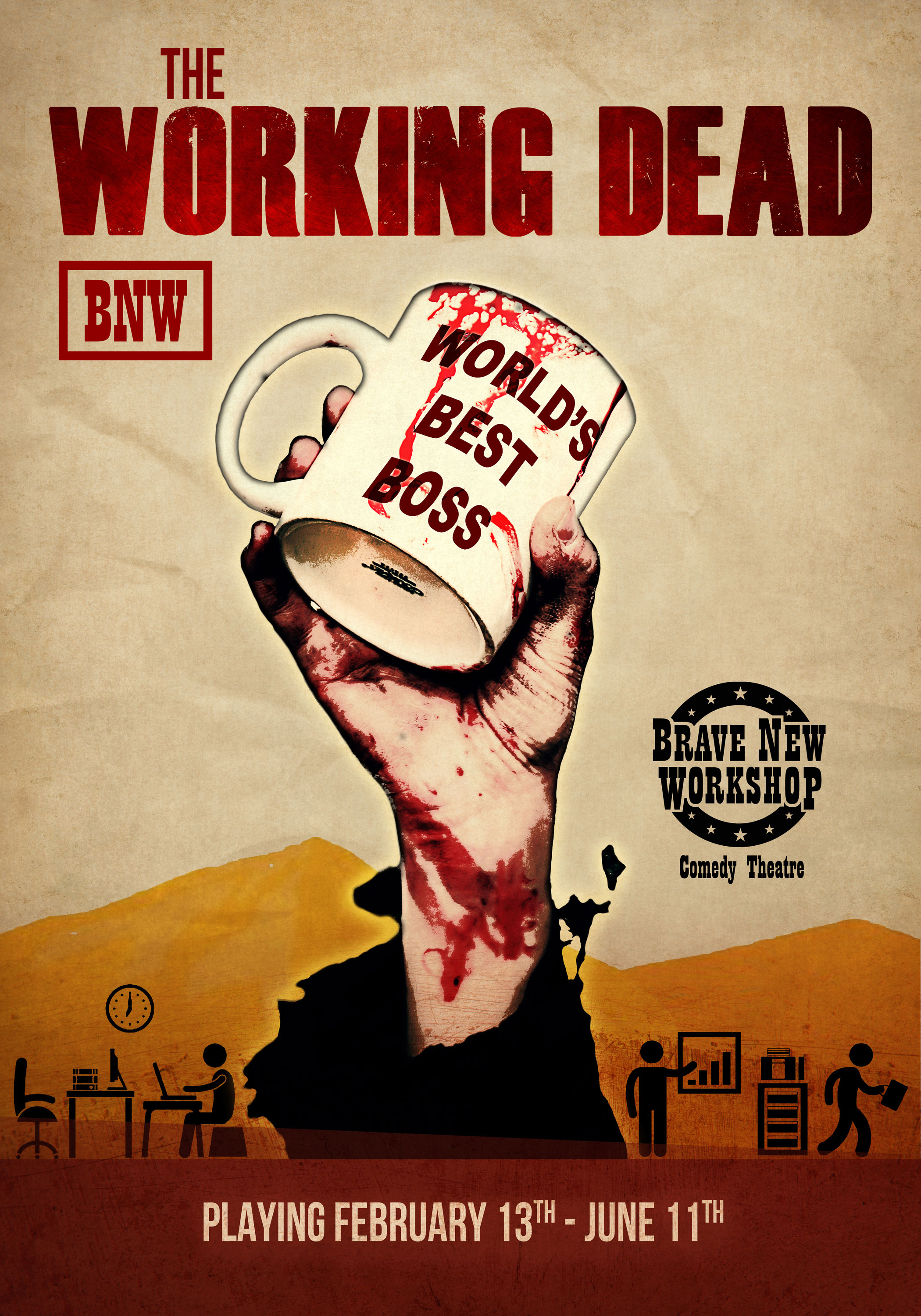 "Episode 1: The Cast of ""The Working Dead"""